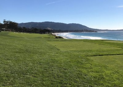 9th fairway at Pebble