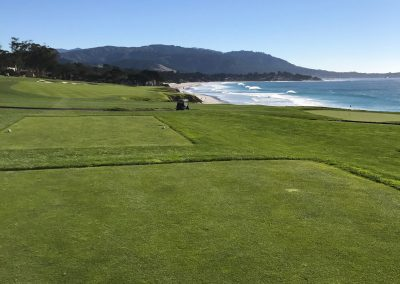 10th fairway at Pebble