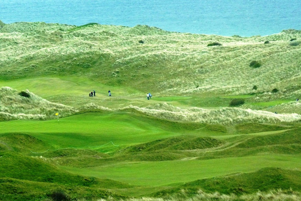 Royal Portrush in Northern Ireland