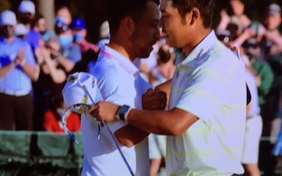 Matsuyama Staggers to Master's Victory
