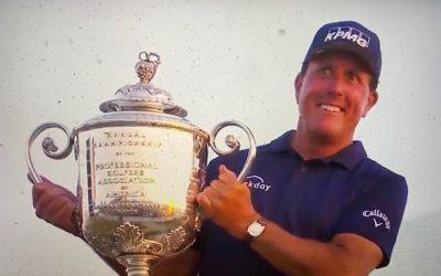 PGA Championship-Mickelsen Shocks the World
