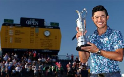 Collin Morikawa Wins the Open Championship