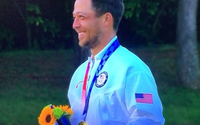 Olympic Golf-Schauffele Wins Gold for the USA